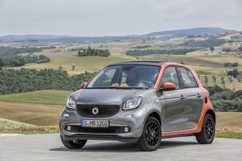 2015 smart fortwo and smart forfour city cars unveiled Image #259444