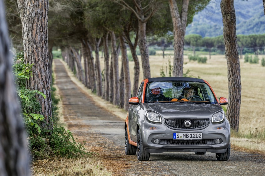 2015 smart fortwo and smart forfour city cars unveiled Image #259447