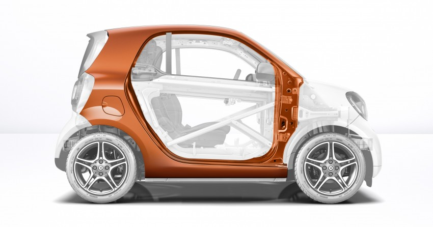 2015 smart fortwo and smart forfour city cars unveiled Image #259428
