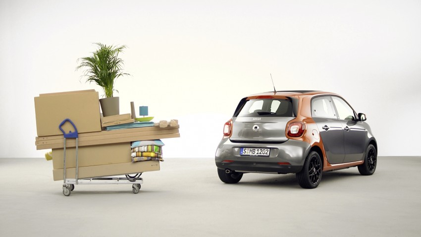 2015 smart fortwo and smart forfour city cars unveiled Image #259422