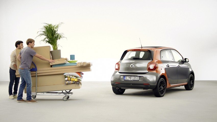 2015 smart fortwo and smart forfour city cars unveiled Image #259423