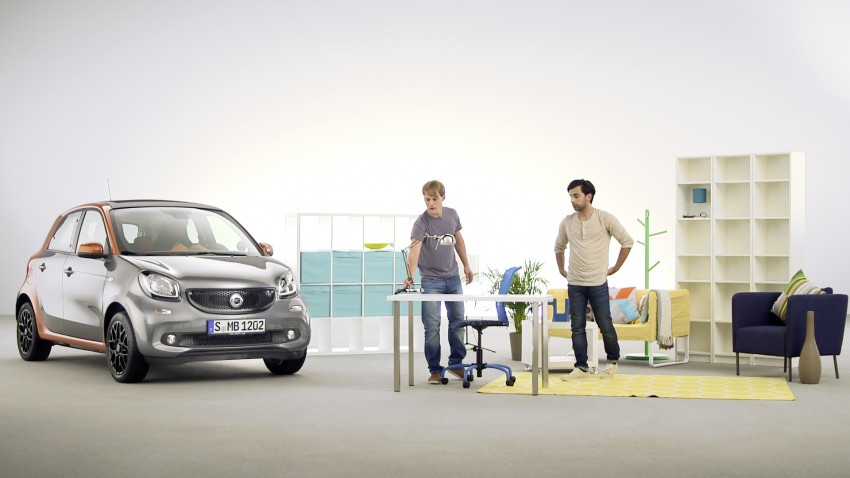 2015 smart fortwo and smart forfour city cars unveiled Image #259500