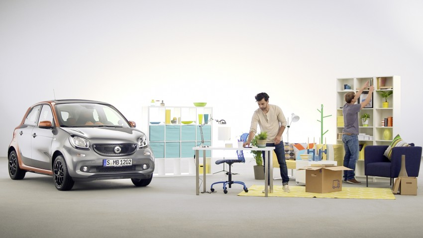 2015 smart fortwo and smart forfour city cars unveiled Image #259501