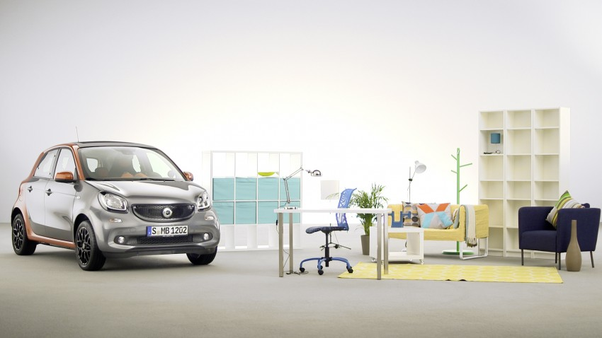 2015 smart fortwo and smart forfour city cars unveiled Image #259502