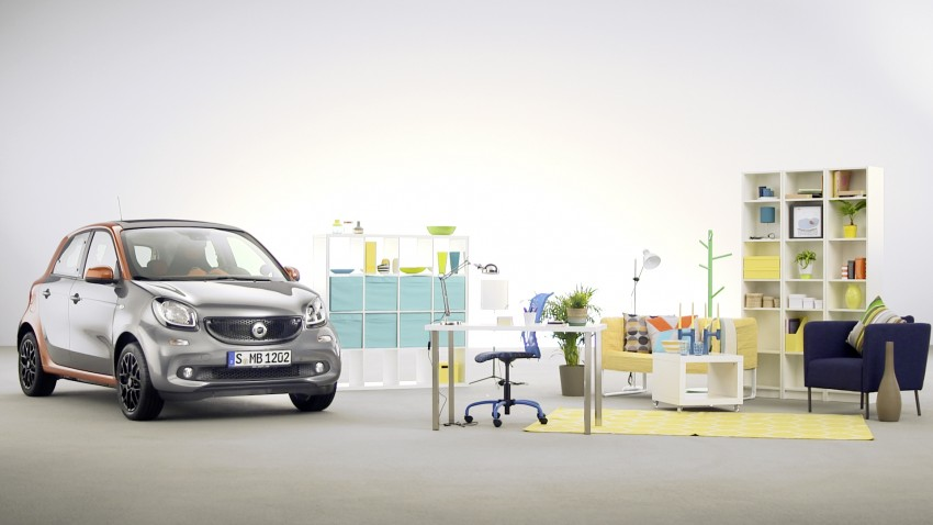2015 smart fortwo and smart forfour city cars unveiled Image #259503