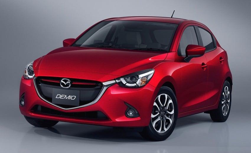 2015 Mazda 2 breaks cover, very Hazumi-like! Image #259316