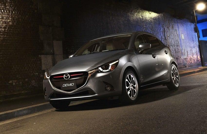 2015 Mazda 2 breaks cover, very Hazumi-like! Image #259325