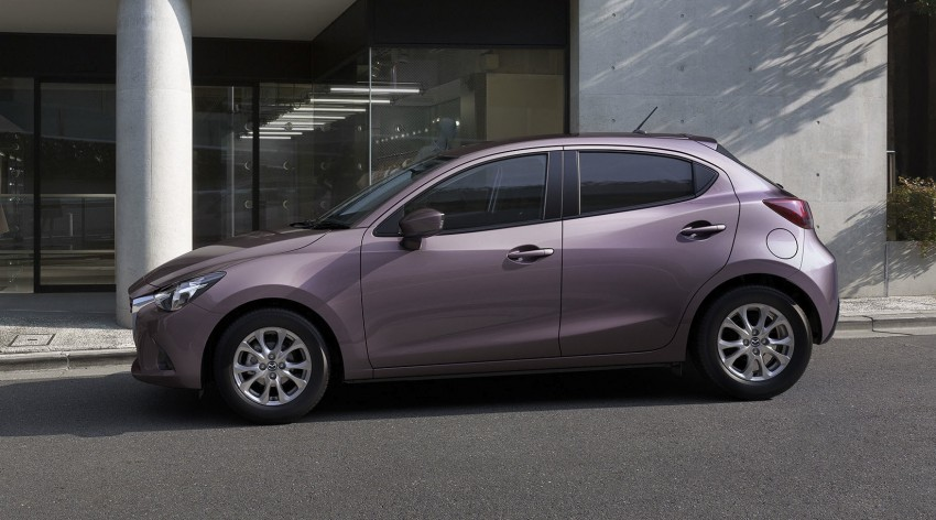 2015 Mazda 2 breaks cover, very Hazumi-like! Image #259326