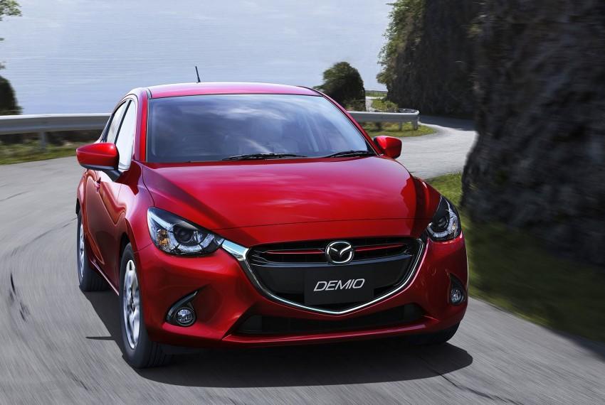 2015 Mazda 2 breaks cover, very Hazumi-like! Image #259328