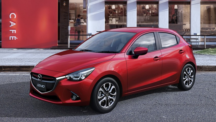 2015 Mazda 2 breaks cover, very Hazumi-like! Image #259329