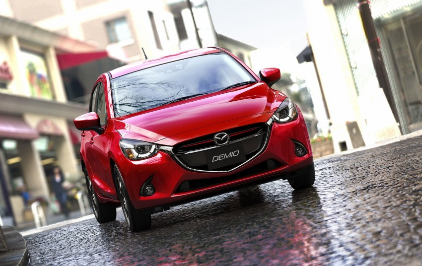2015 Mazda 2 breaks cover, very Hazumi-like! Image #259331