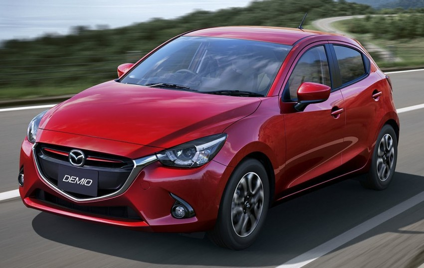 2015 Mazda 2 breaks cover, very Hazumi-like! Image #259333