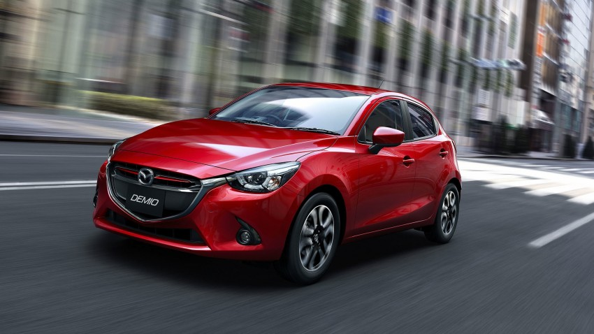 2015 Mazda 2 breaks cover, very Hazumi-like! Image #259334