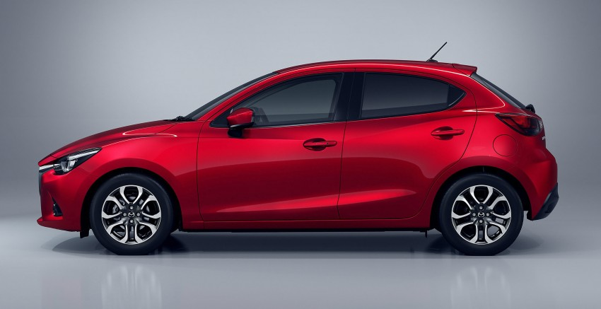 2015 Mazda 2 breaks cover, very Hazumi-like! Image #259317