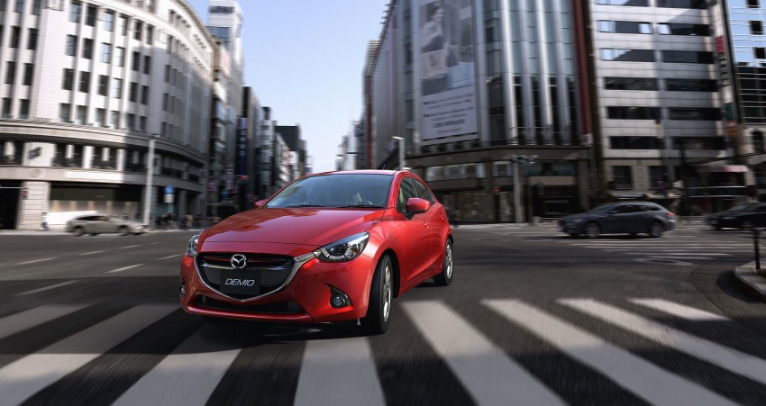 2015 Mazda 2 breaks cover, very Hazumi-like! Image #259335