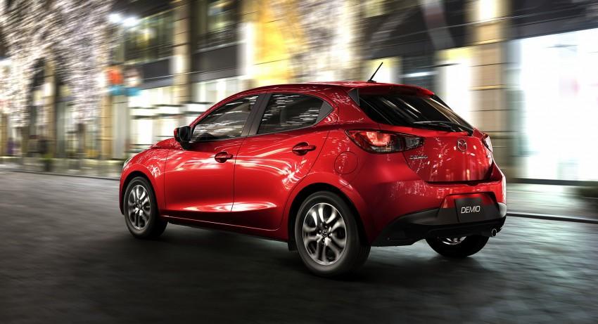 2015 Mazda 2 breaks cover, very Hazumi-like! Image #259336