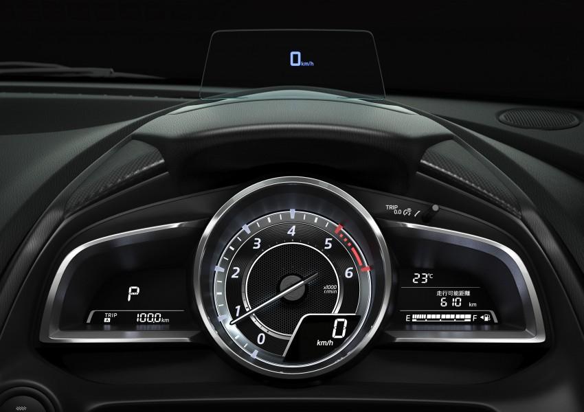 2015 Mazda 2 breaks cover, very Hazumi-like! Image #259343