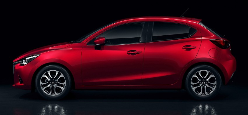 2015 Mazda 2 breaks cover, very Hazumi-like! Image #259351