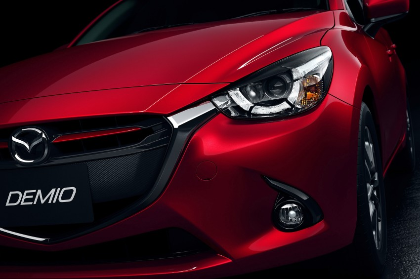 2015 Mazda 2 breaks cover, very Hazumi-like! Image #259354
