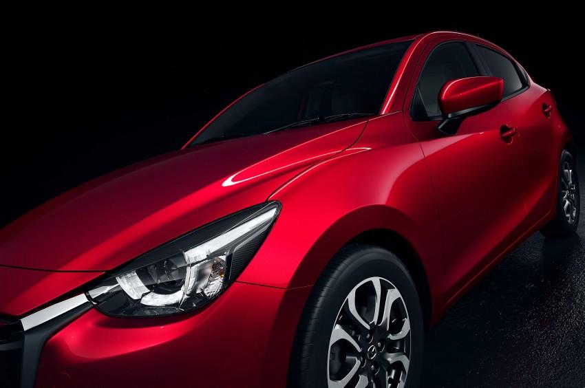 2015 Mazda 2 breaks cover, very Hazumi-like! Image #259355