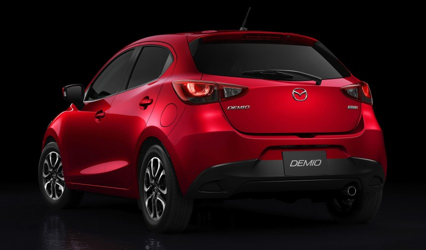 2015 Mazda 2 breaks cover, very Hazumi-like! Image #259357