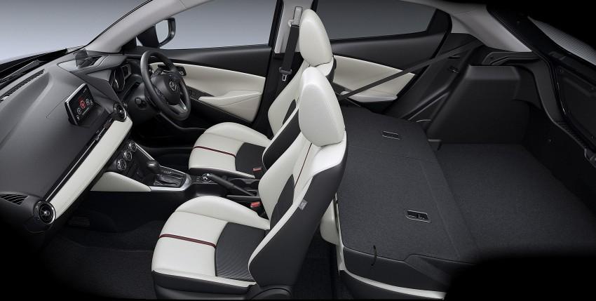 2015 Mazda 2 breaks cover, very Hazumi-like! Image #259363