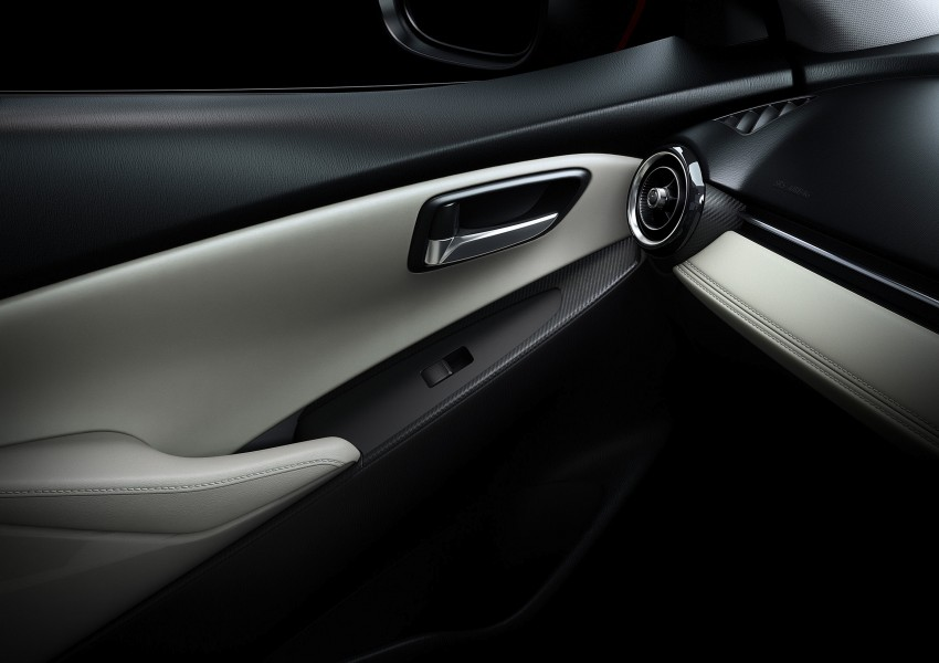 2015 Mazda 2 breaks cover, very Hazumi-like! Image #259364