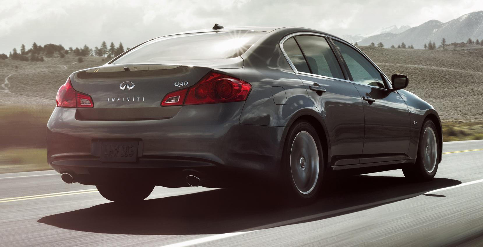 New Infiniti Q40 Last Generation G Sedan Lives On Image