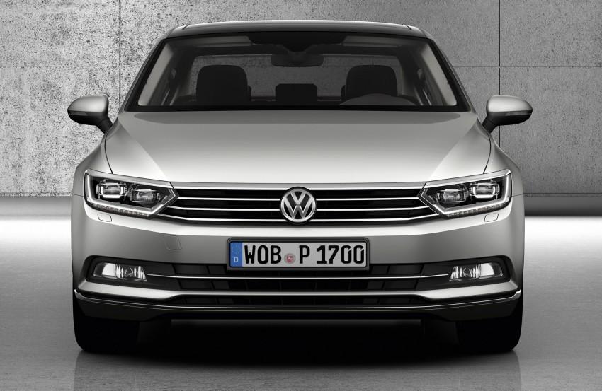 2015 Volkswagen Passat B8 – full details & photos Image #256933