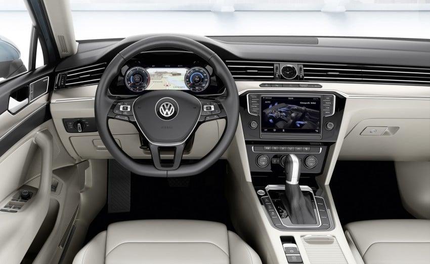 2015 Volkswagen Passat B8 – full details & photos Image #256928