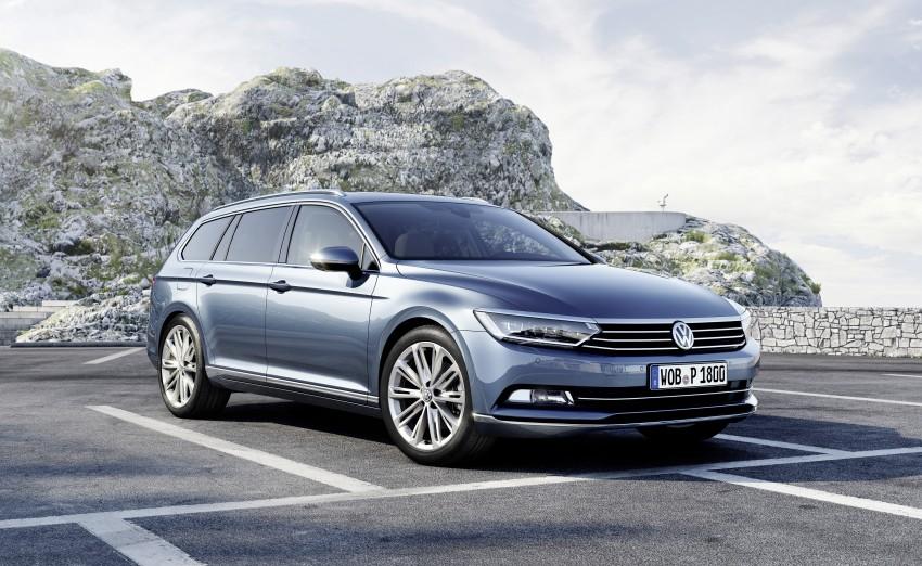 2015 Volkswagen Passat B8 – full details & photos Image #256950