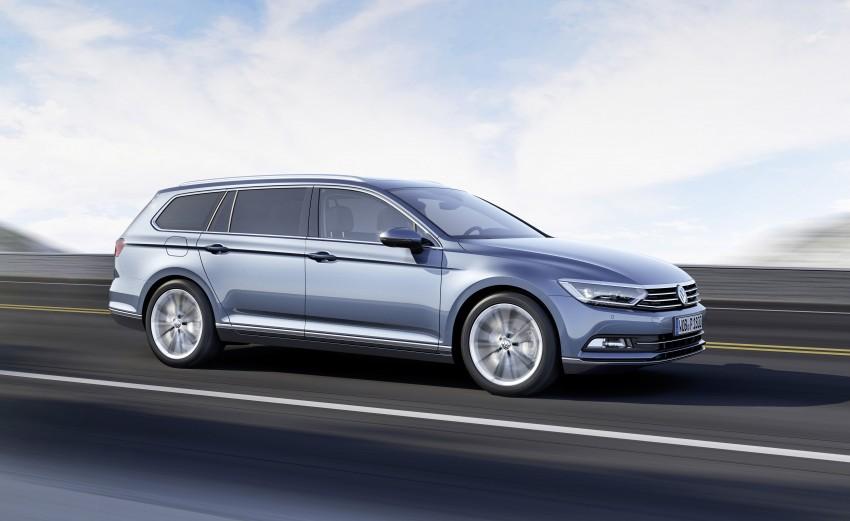 2015 Volkswagen Passat B8 – full details & photos Image #256952