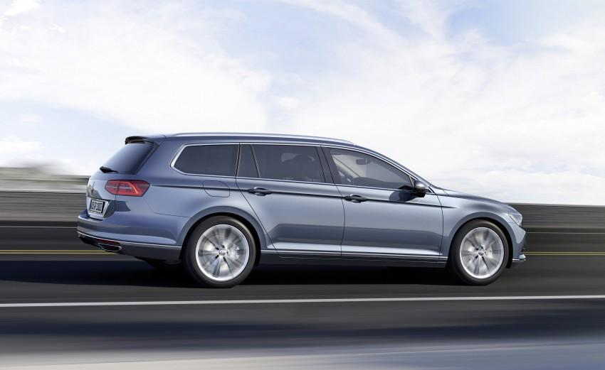 2015 Volkswagen Passat B8 – full details & photos Image #256951