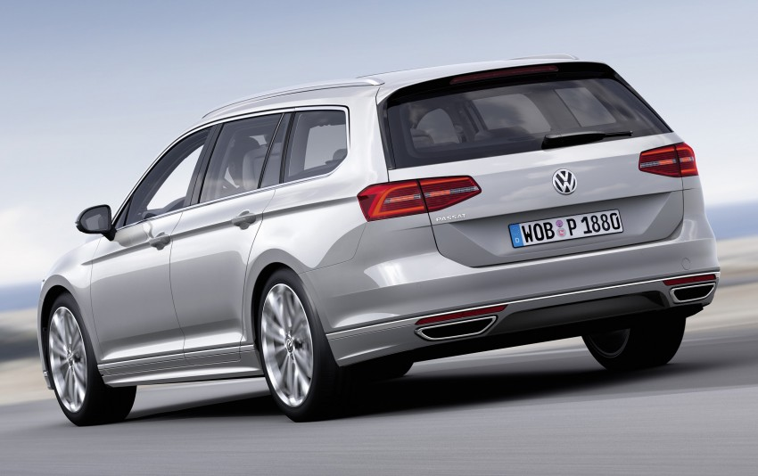 2015 Volkswagen Passat B8 – full details & photos Image #256964