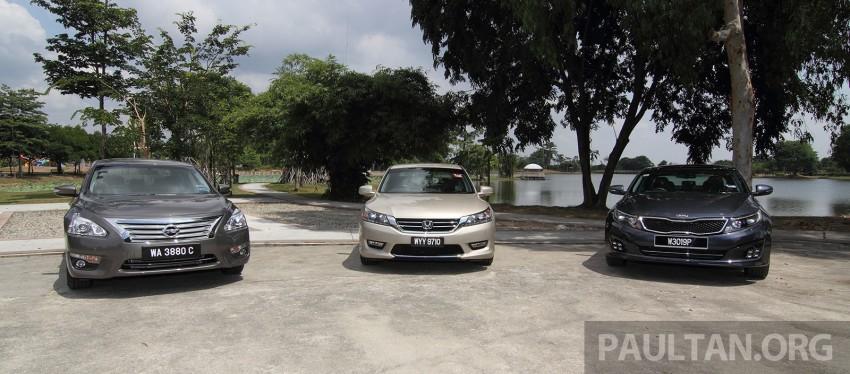 Driven Web Series 2014 #3: Company car dilemma 2.0 – Honda Accord vs Nissan Teana vs Kia Optima K5 Image #260150