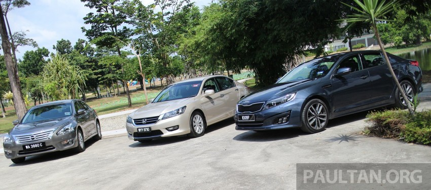 Driven Web Series 2014 #3: Company car dilemma 2.0 – Honda Accord vs Nissan Teana vs Kia Optima K5 Image #260151