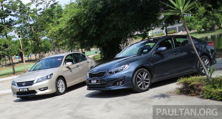 Driven Web Series 2014 #3: Company car dilemma 2.0 – Honda Accord vs Nissan Teana vs Kia Optima K5 Image #260155