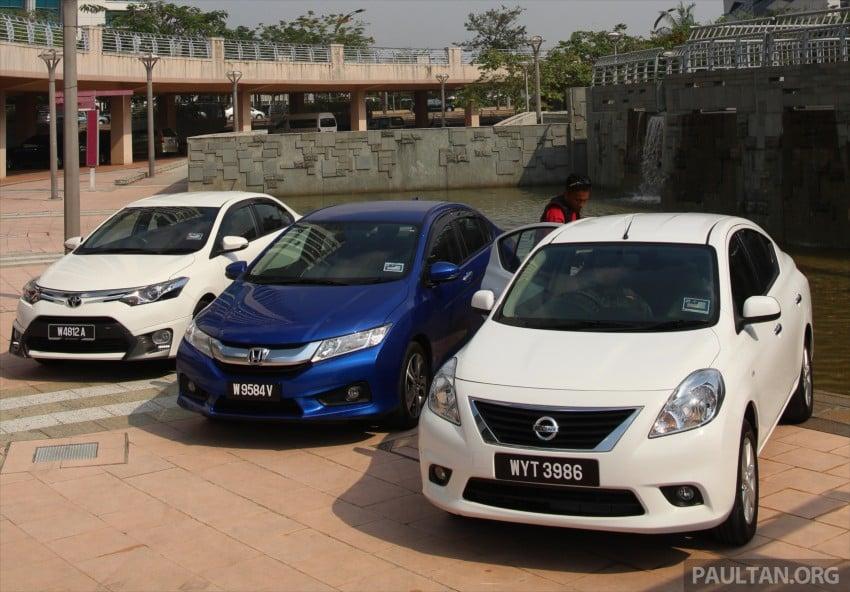Driven Web Series 2014 #1: Best of the B-segment – 2014 Honda City vs Toyota Vios vs Nissan Almera Image #257573
