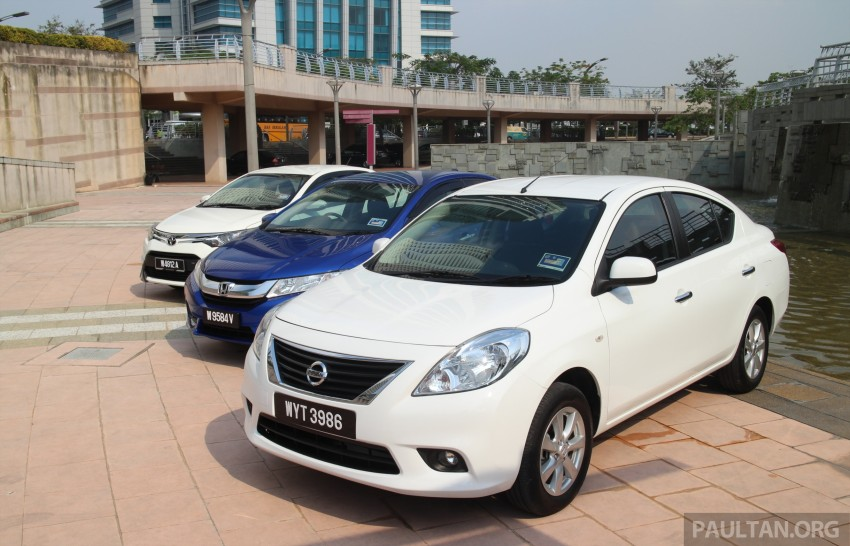 Driven Web Series 2014 #1: Best of the B-segment – 2014 Honda City vs Toyota Vios vs Nissan Almera Image #257574