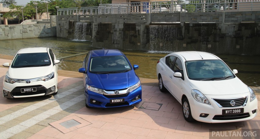 Driven Web Series 2014 #1: Best of the B-segment – 2014 Honda City vs Toyota Vios vs Nissan Almera Image #257575