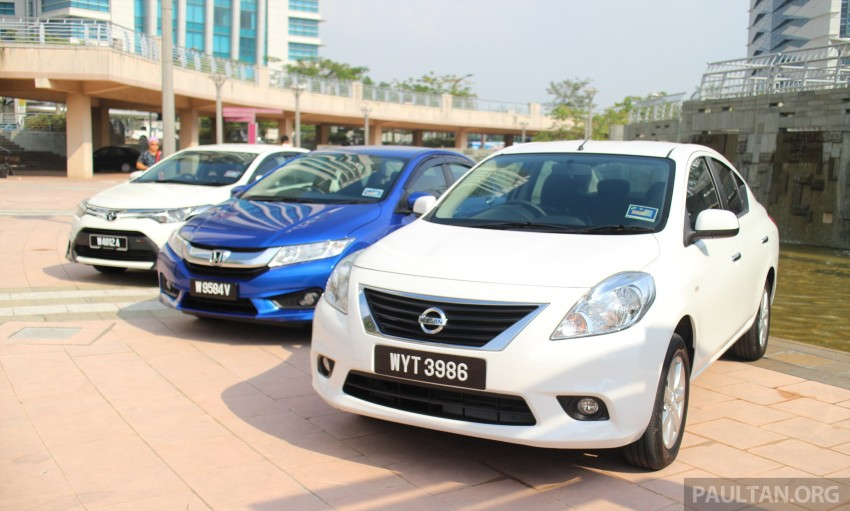 Driven Web Series 2014 #1: Best of the B-segment – 2014 Honda City vs Toyota Vios vs Nissan Almera Image #257576