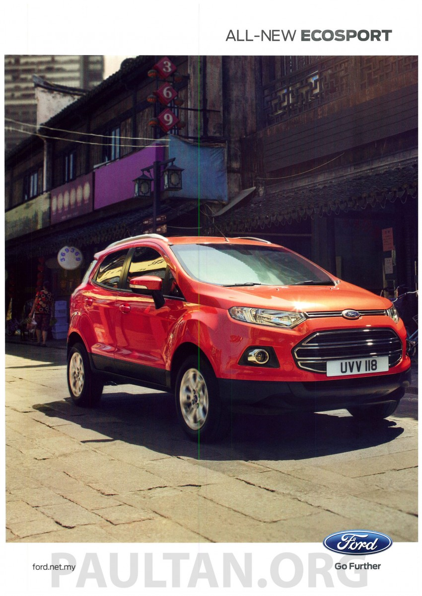 Ford EcoSport being previewed at SDAC showrooms – 1.5L Trend and Titanium variants, RM96k-RM104k Image #261239