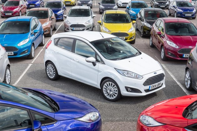 Fiesta Best-Selling Car UK