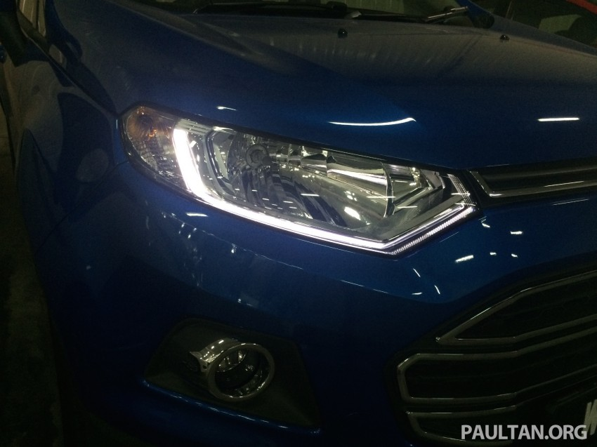 Ford EcoSport being previewed at SDAC showrooms – 1.5L Trend and Titanium variants, RM96k-RM104k Image #261184
