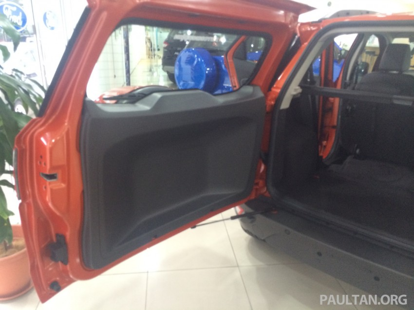 Ford EcoSport being previewed at SDAC showrooms – 1.5L Trend and Titanium variants, RM96k-RM104k Image #261195