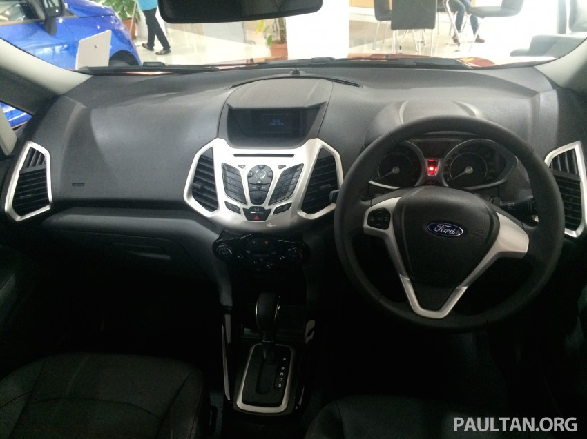 Ford EcoSport being previewed at SDAC showrooms – 1.5L Trend and Titanium variants, RM96k-RM104k Image #261201