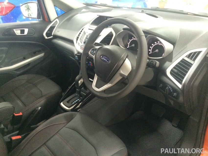 Ford EcoSport being previewed at SDAC showrooms – 1.5L Trend and Titanium variants, RM96k-RM104k Image #261219