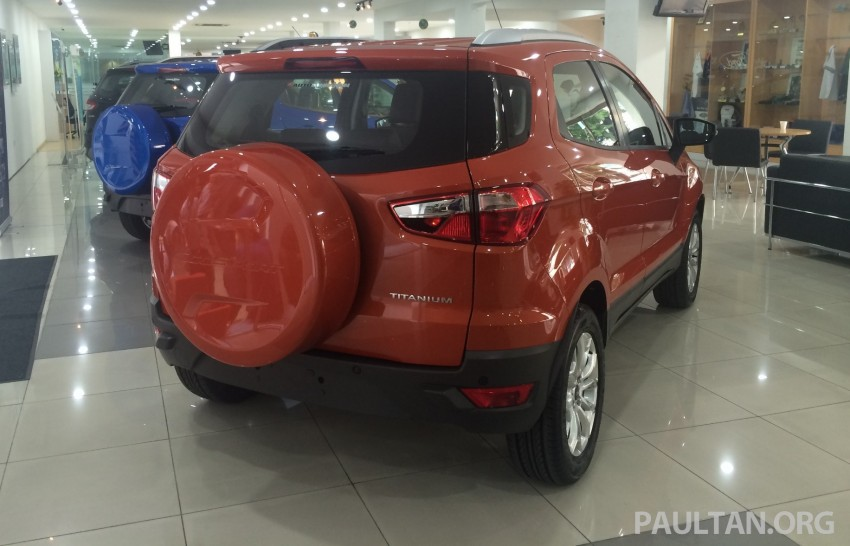 Ford EcoSport being previewed at SDAC showrooms – 1.5L Trend and Titanium variants, RM96k-RM104k Image #261221