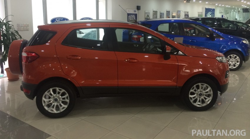 Ford EcoSport being previewed at SDAC showrooms – 1.5L Trend and Titanium variants, RM96k-RM104k Image #261222