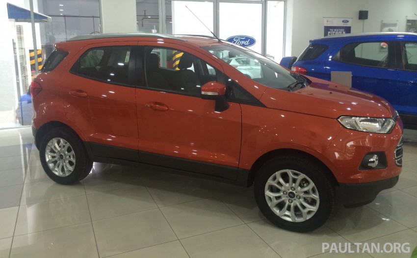 Ford EcoSport being previewed at SDAC showrooms – 1.5L Trend and Titanium variants, RM96k-RM104k Image #261223